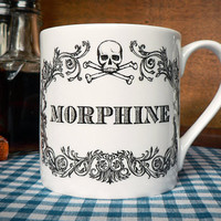 $21.82 The New Apothecary Morphine Cup Tea cup coffee mug by Skullbag