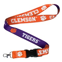 Clemson Tigers - Name and Logo Lanyard