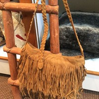 fringe handbag, fringe purse, faux leather handbag, leather fringe purse, faux leather fringe purse