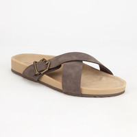 Volcom Relax Womens Sandals Brown  In Sizes