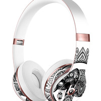 Indian Mandala Elephant Full-Body Skin Kit for the Beats by Dre Solo 3 Wireless Headphones