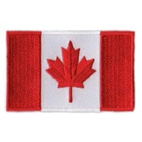 BACKPACKFLAGS flag patch Canada