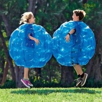 """Buddy Bounce Outdoor Play Ball, Inflatable - Blue - 36"""" diam. by HearthSong??"""