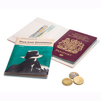 A Novel - Passport cover - Mystery | What is New | Animi Causa Boutique