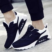 High-quality Men sports shoes Air cushion max running shoes for men shoes breathable mesh Sneakers men Walking shoes jogging