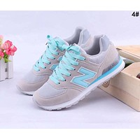 New Balance Popular Casual All-match N Words Breathable Couple Sneakers Shoes 4#