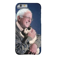Bernie Sanders Loves Cats (iPhone4-6+ & Androids) Barely There iPhone 6 Case