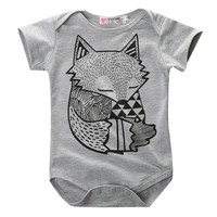 Summer Spring 2015 New Arrival Toddler Baby Boys Girls Newborn Jumpsuit Bodysuit Outfits 0-24M Clothes Kid One-Pieces
