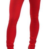 DICKIES GIRL SKINNY JEANS RED - Bottoms - Gals