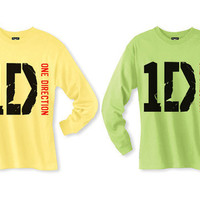 1D One Direction Long Sleeve T-shirt