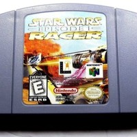 Star Wars: Episode I: Racer Cart Only  (Nintendo 64, 1999) (Guaranteed to work)