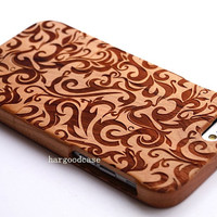 Wood iPhone Case Wooden iPhone 5/5s/5c/6 Case iPhone 6 Plus Case Samsung Galaxy S3/S4/S5/S6 Case Note2/3/4 Case