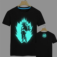 Dragon Ball Z T Shirt Super Saiyan t shirt men Son Goku Tees Tops Men Clothes