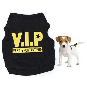 VIP Pattern For Dog Clothing