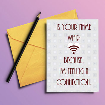 Printable Valentines Day card, Funny greeting card, Valentine for wife, Cheesy pick up line, quirky gift, For him, Anniversary, boyfriend
