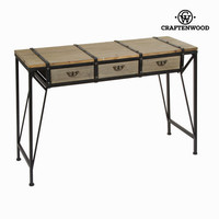 3 drawer metal table toronto - Thunder Collection by Craften Wood