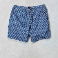 CPO Yarn-Dyed Checked Pull-On Short