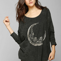 Project Social T Foiled Moon Dolman Tee - Urban Outfitters