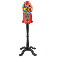 Great Northern 15-Inch Vintage Candy Gumball Machine and Bank with Stand, Eve...