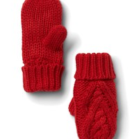 Cable-knit mittens | Gap