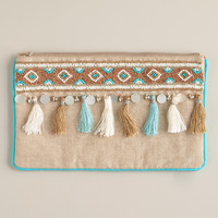 Tassels and Fringe Jewelry Pouch - World Market