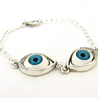 Blue Eyes Bracelet for Teen
