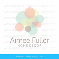 OOAK Premade Logo Design - Dot Cloud - Perfect for a social media or marketing consulting business