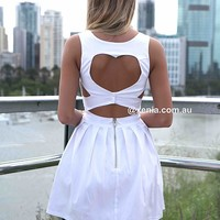 HEART CUT OUT DRESS , DRESSES, TOPS, BOTTOMS, JACKETS & JUMPERS, ACCESSORIES, $10 SPRING SALE, PRE ORDER, NEW ARRIVALS, PLAYSUIT, GIFT VOUCHER, $30 AND UNDER SALE, SWIMWEAR,,White Australia, Queensland, Brisbane