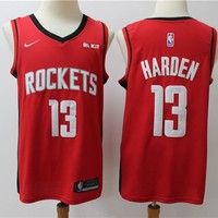 2019-2020 Houston Rockets 13 James Harden Swingman Jersey