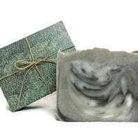 Patchouli and Dead Sea Clay Soap, Handmade Soap, Vegan Soap, Gift under 10
