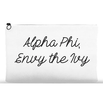 Accessory Pouch for Alpha Phi at Boston University