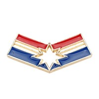 dongsheng New Avengers 3 Marvel Comics Carol Danvers Captain Marvel Brooch Superhero Jewelry brooch pin -40