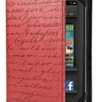Verso Artist Series Case Cover for Kindle Fire, Cities, Red (does not fit Kindle Fire HD)