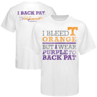 Tennessee Volunteers We Back Pat T-Shirt - White