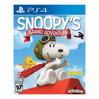 Snoopy's Grand Adventure PS4 Video Game