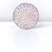 """Jim Henson's Labyrinth Movie """"Never Go That Way"""" Pin"""