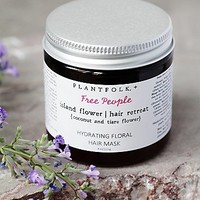 Plantfolk Apothecary for Free People Womens Island Flower Hair Retreat Mask