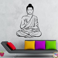 Wall Stickers Vinyl Decal Buddha Buddhism Zen Religion Indian  (z2019)
