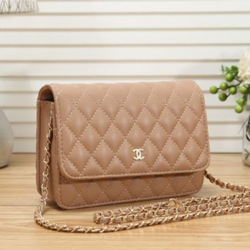 Women Shopping Leather Chain Shoulder Bag Satchel Crossbody