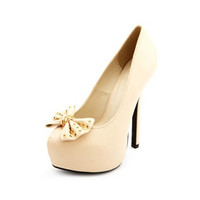 CHAINED BOW-FRONT PLATFORM PUMP