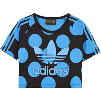 adidas Originals - + Pharell Williams Dear Baes stretch-cotton jersey T-shirt