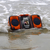 Eco Terra Waterproof Boombox at Brookstone—Buy Now!