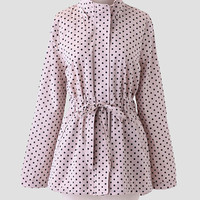 Desiree Polka Dot Anorak By Tulle