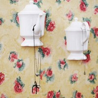 Cottage Décor English High Tea Wall Hooks, Set of 2