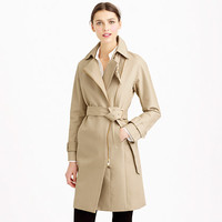 COLLECTION BONDED COTTON TRENCH COAT