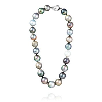 "17"" Baroque Tahitian Pearl Necklace"