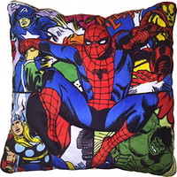 Marvel Comic Book Spiderman Pillow - 3D