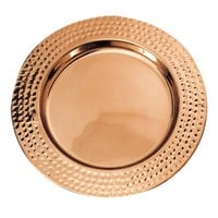 Old Dutch 13 in. Copper Charger Plate | www.hayneedle.com