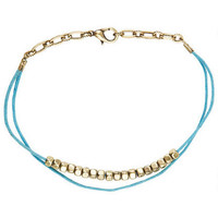 String Bead Anklet - Multi