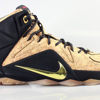 Nike Men's LeBron 12 XII EXT QS King's Cork